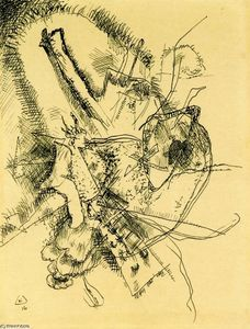 Wassily Kandinsky - Drawing for Etching II