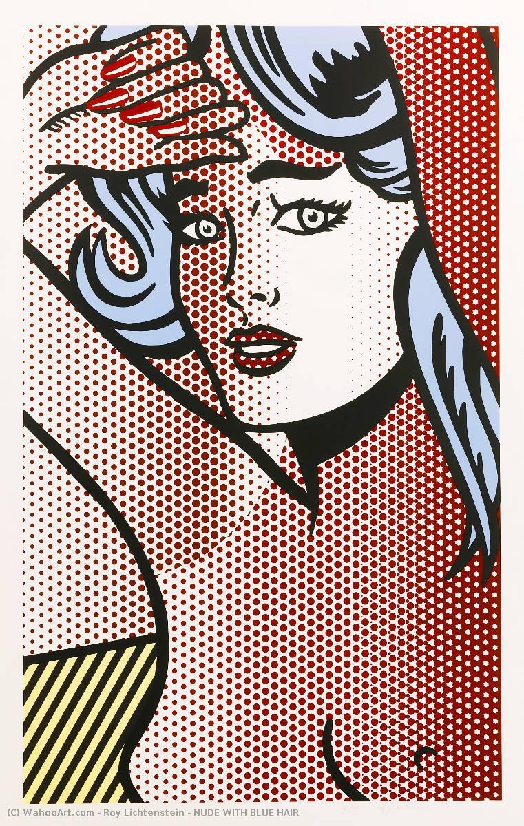 Roy Lichtenstein design style wall deco art painting poster print